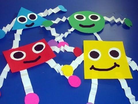 Cómo hacer figuritas geometricas de papel para decorar