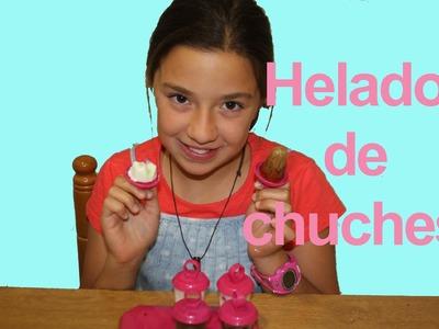 Cómo hacer helados con chuches