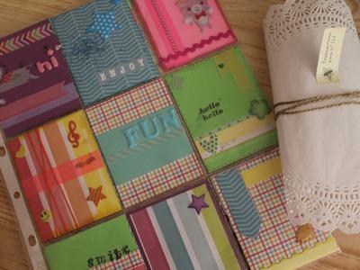 ¿Cómo hacer Pocket letter? + Scrapbook