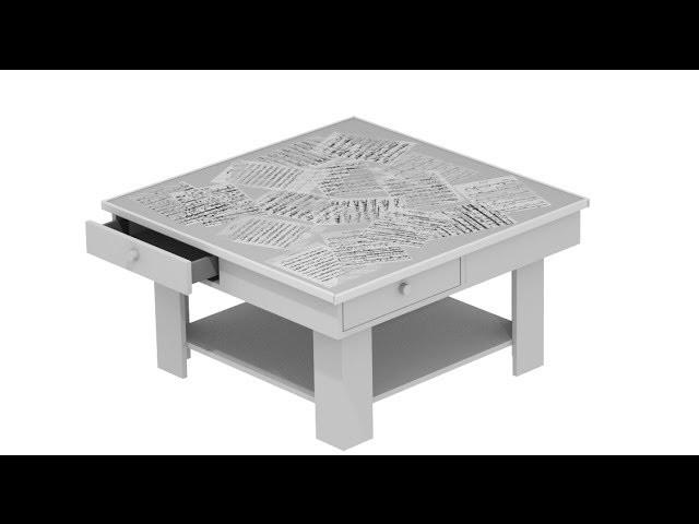 Como hacer una mesa de centro de salon