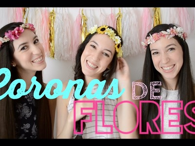 Coronas de Flores Súper fáciles ♡ Trillizas | Triplets