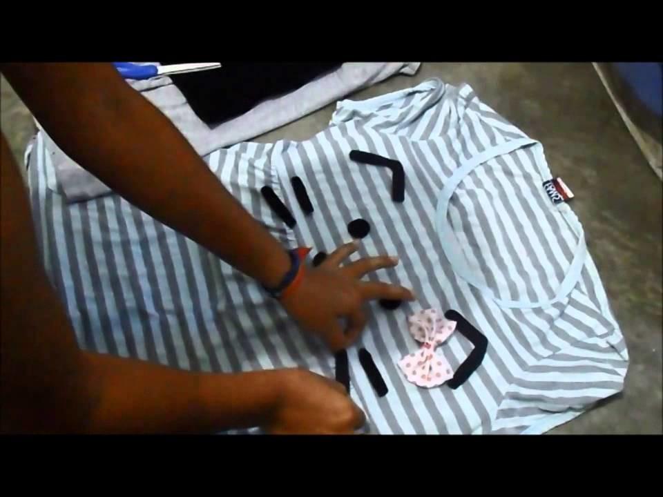 DIY - Blusa de Gatito Kawaii ♥ Sheccid. Neko T-Shirt Kawaii