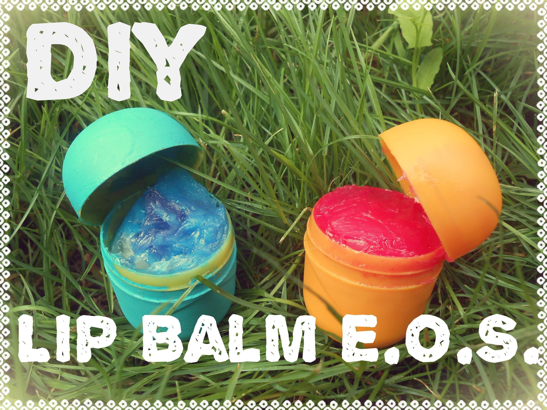 Diy: Lip balm EOS