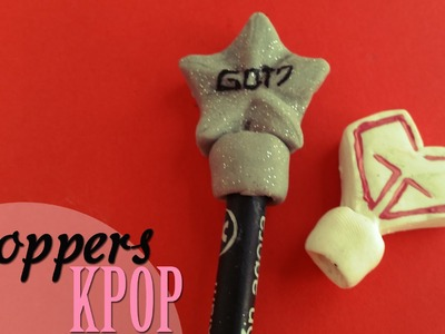 DIY: Toppers para lápices. Pencil Toppers -Got7 & SNSD-