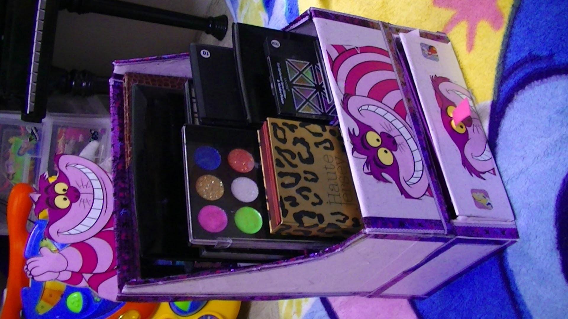 Manualidades: Organizador de paletas de maquillaje - Juancarlos960