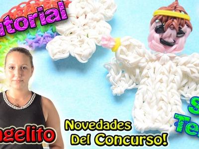 ♥ Tutorial: Ángel de gomitas (sin telar) y NOVEDADES DEL CONCURSO [Finalizado el 7.09.14] ♥