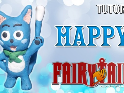 Tutorial Happy en Plastilina. Fairy Tail. How to make a Happy with Plasticine