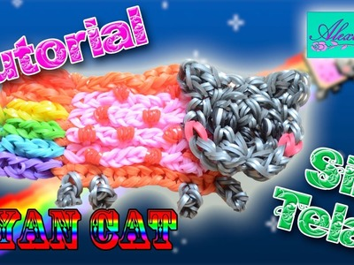 ♥ Tutorial: Nyan Cat de gomitas (sin telar) ♥