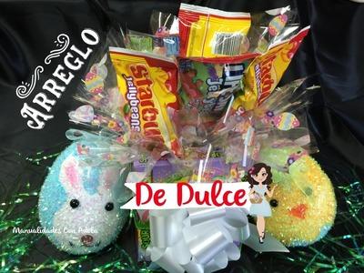 Arreglo De Dulces Para Easter | Manualidades Con Adela