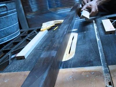 Carpintería - Como hacer mesa para pc Pt 3