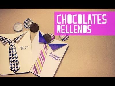 Chocolates rellenos, facilísimos! (Anie)