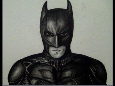 COMO DIBUJAR A BATMAN