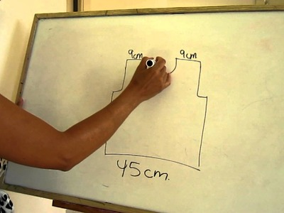 Cómo hacer un patrón para dos agujas