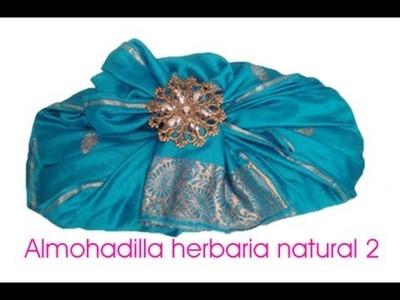 Como Hacer Una Almohadilla Herbaria (Almohada Terapéutica) 2