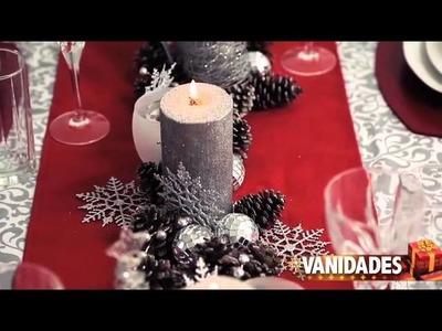 Cómo poner la mesa de Navidad
