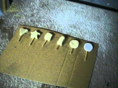 Como secar las figuras de harina