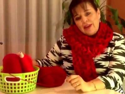 Cómo tejer una BUFANDA - Prendas rápidas - Tejiendo con Laura Cepeda