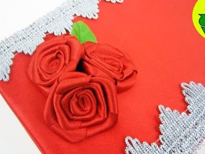 Episodio  699-Cómo hacer un joyerito de rosas con una  cajita de chocolates