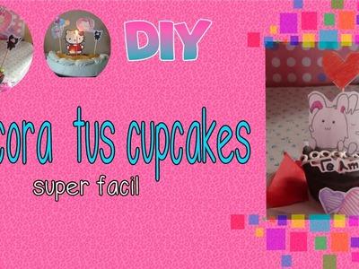 Idea para el 14 de febrero decoratus cup cakes