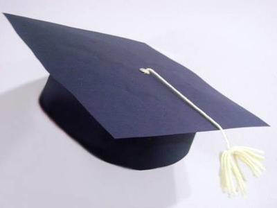 Manualidades escolares: Birrete o sombrero de graduación