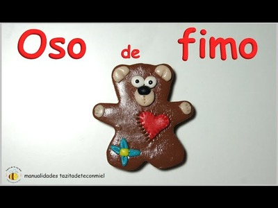 Manualidades: osito de fimo tutorial. fimo teddy tutorial