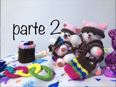 Oso tejido parte 2  #Amigurumis #Ganchillo #Crochet Teddy Bear DIY