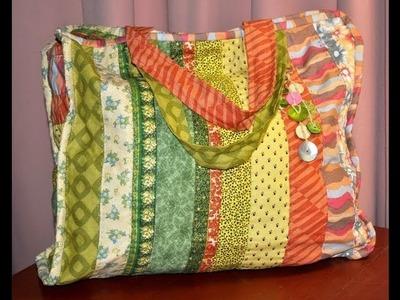 Quilting y Patchwork - Bolso - Maquinas de coser Elna - Silvia Herman