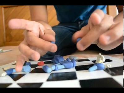 Tutorial- como hacer a MEGAMAN X de plastilina