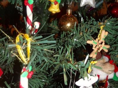 Adornos para navidad en porcelana fria