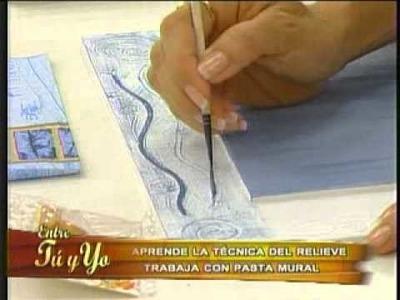 Aprende a elaborar unos hermosos cuadros con la técnica del relieve
