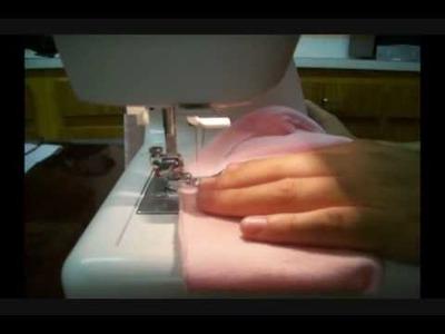 Cómo coser un paña de tela de los modernos parte 1 - La receta de la abuelita