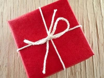 Cómo envolver regalos de manera original