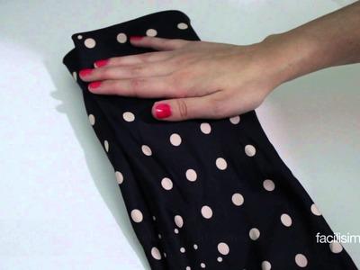 Cómo envolver una caja pequeña con un pañuelo | facilisimo.com