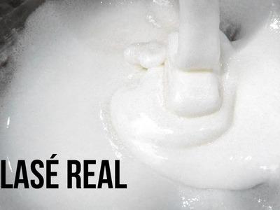 Cómo hacer Glasé real - Royal icing