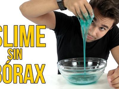 Cómo hacer SLIME casero sin bórax (Experimentos Caseros)