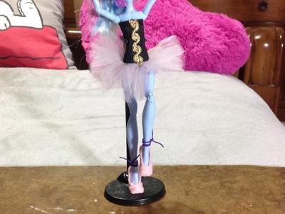 Como hacer un disfraz de bailarina de ballet para tus muñecas.