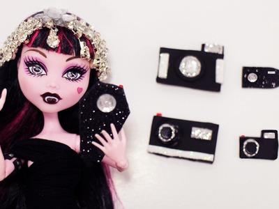 Cómo hacer una Cámara Fotográfica para tus muñecas - Manualidades para muñecas