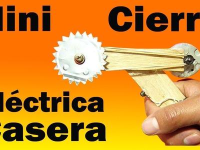Cómo Hacer Una Sierra Eléctrica Casera (Fácil de hacer)