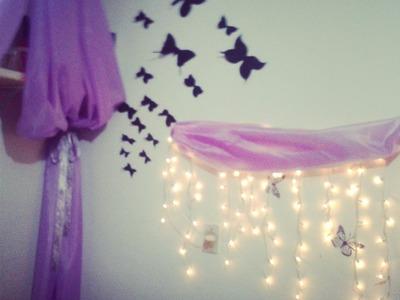 DIY como hacer mariposas de papel