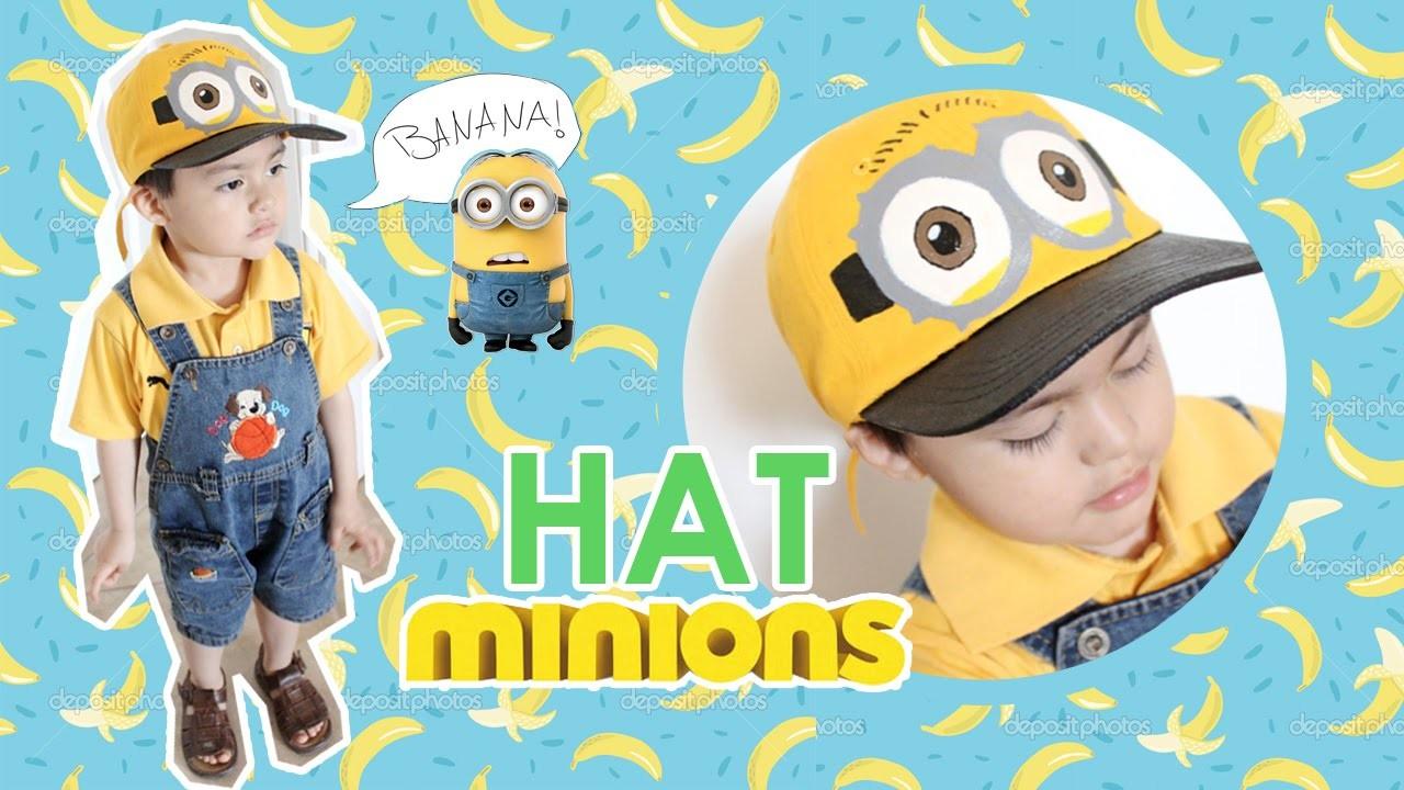 DIY: Gorra Minions | Minions Hat