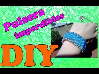 DIY-Pulsera con imperdibles