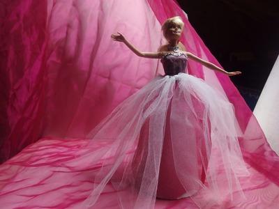 Diy vestido de princesa babie sin coser 3ª