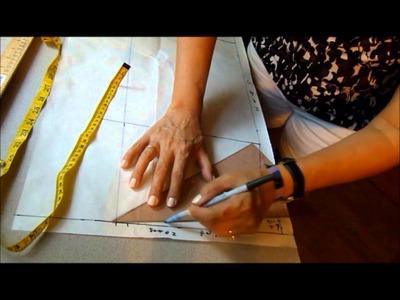 El costurero de Stella-Básico posterior de la falda