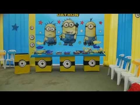 Fiestas Infantiles - Decoracion Minions - Travesuras Kids