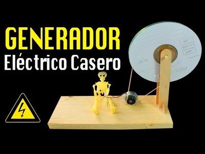 Generador Eléctrico Casero   Generador de Energía casero