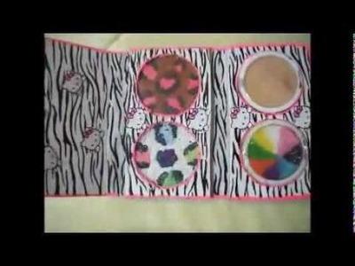 Manualidades: Paleta de cebra y Sombras leopardo - Juancarlos960