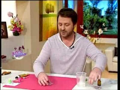 Martín Muñoz - Bienvenidas TV - Adornos con resina