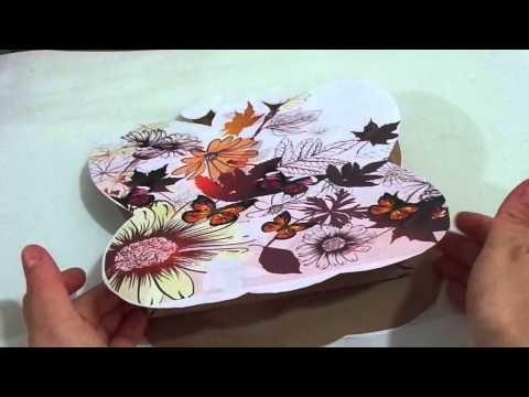 Paso a paso de como hacer una bolsa en forma de mariposa