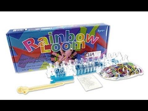 Rainbow Loom: Kit para elaborar brazaletes con bandas de caucho