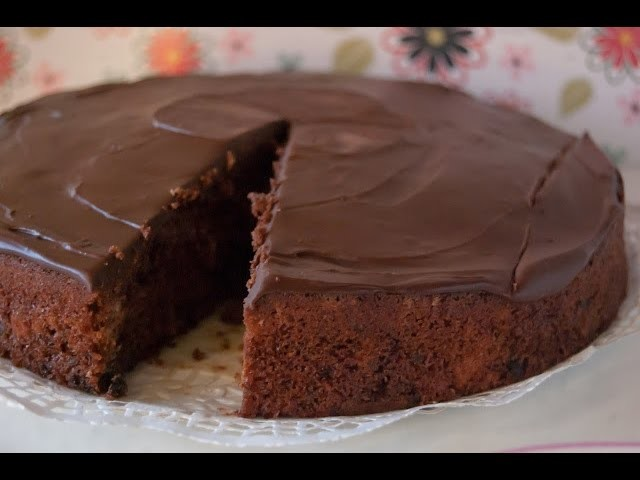 Tarta de Chocolate | Tarta de Chocolate Crudivegana Exquisita | Recetas Faciles y Rapidas